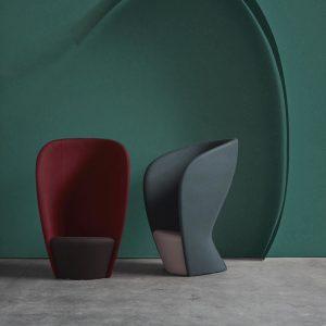 Billede af loungestol Akustisk Shelter i blandede farver
