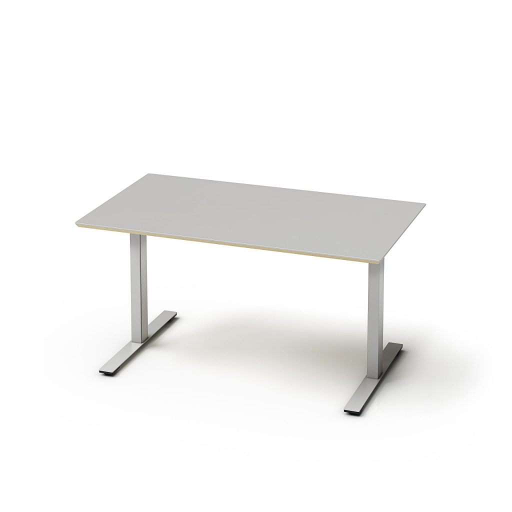 Lille hæve-sænkebord til hjemmekontor eller små lokaler. Mål fra 50 x 70 cm