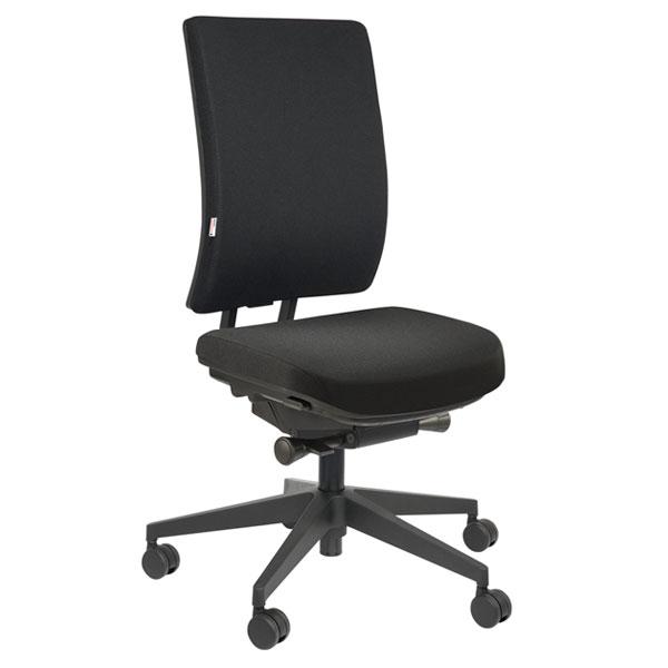 Kvalitets kontorstol med god komfort og 2 lag skum for behagelig komfort.