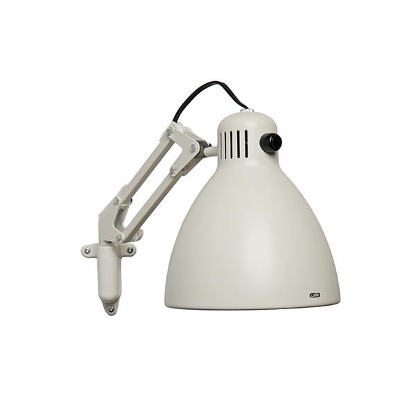 Luxo L1 væglampe hvid, en smuk og klassisk væglampe, der udspringer af den oprindelige arkitektlampe fra 1937, designet af Jac Jacobsen.