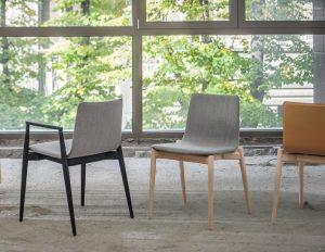Billede af mødestol træ Malmø,