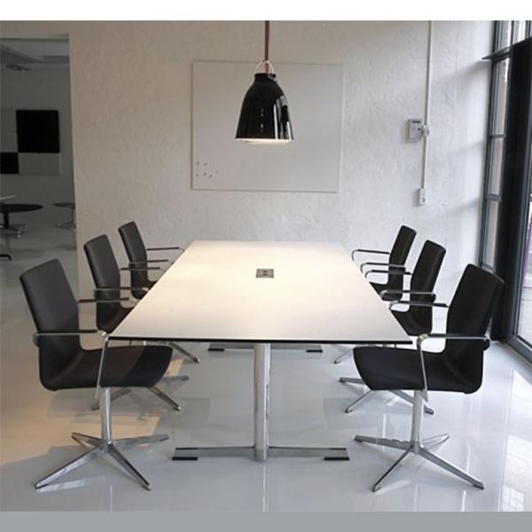 Billede af mødebord FourMat hvid