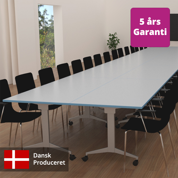 Billede af mødebord langt, her to sammensatte