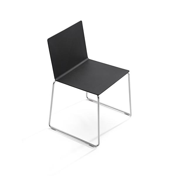 Billede af mødestol Dry med sort sæde og ryg