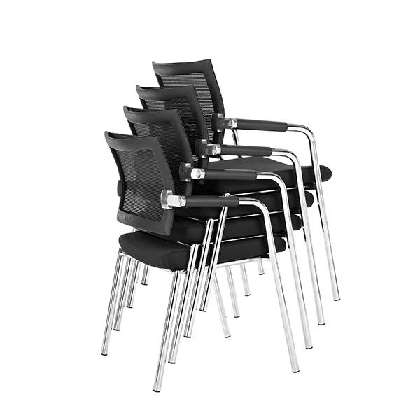 Mødestol Skin Delta stabelbar