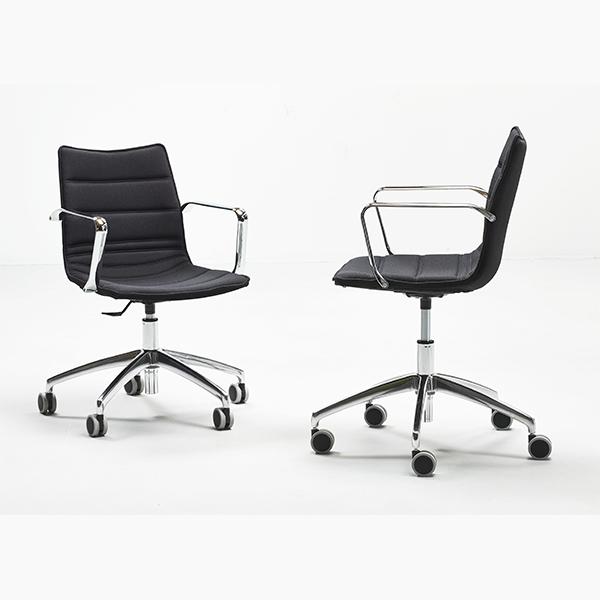Mødestol polstret
