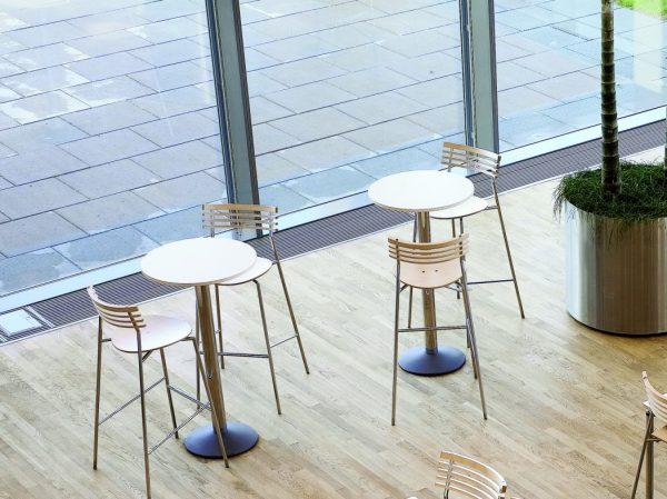Barstol Rail | Cafestol til højborde | God siddekomfort