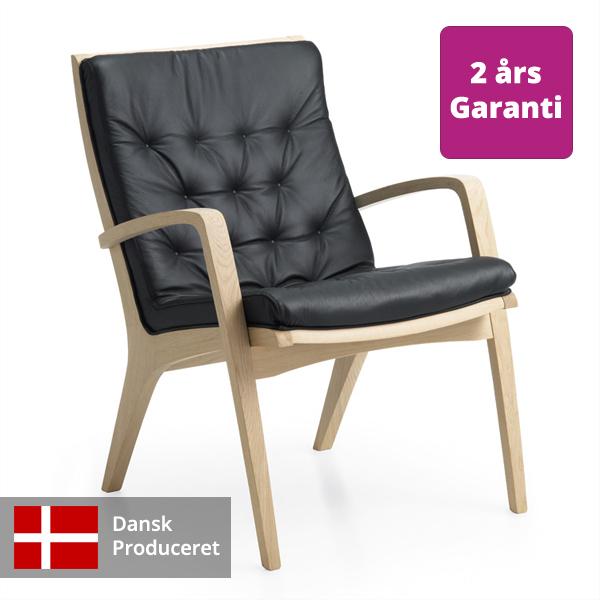 Billede af hvilestol med lav ryg