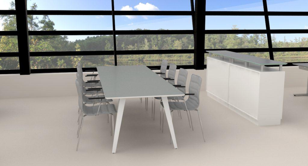 Billede af mødebord Spider 1