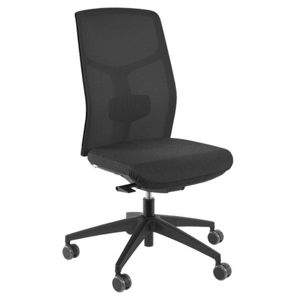 Billig kontorstol med netryg