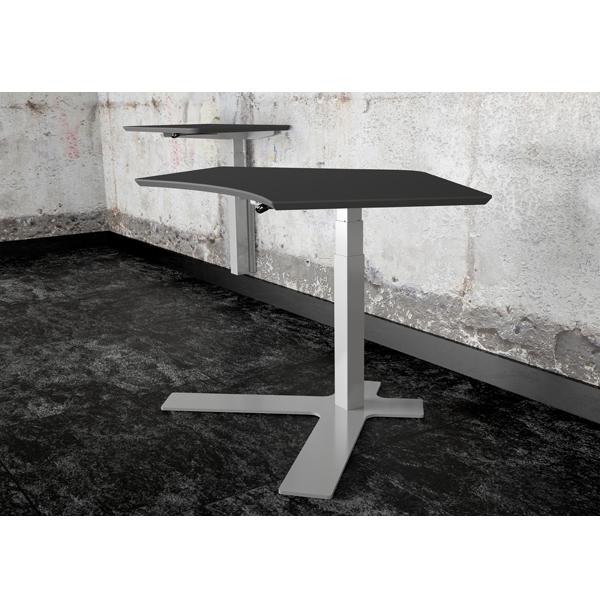 Hæve Sænkebord En Søjle, også mulighed for vægmontering.