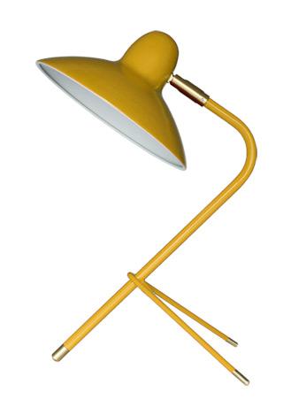 Bordlampe Arles Gul