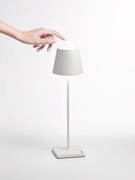 Billede af Poldina Bordlampe Lampe Hvid White