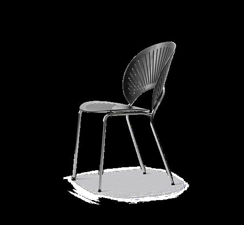 Billede af kantinestol Trinidad, sort uden sæde og armlæn