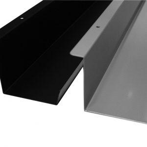 Kabelbakke Universal Sort, til mødebord eller skrivebord