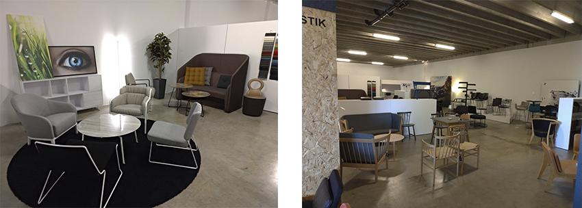 Showroom Møbeludstilling Dc Kontormøbler