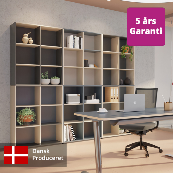 Billede af moderne kontorreol