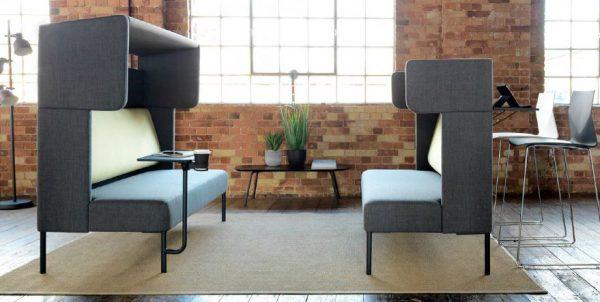 Billede af akustikdæmpende sofa FourUs