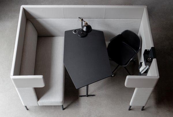 Billede af arbejdskabine FourUs Work Booth
