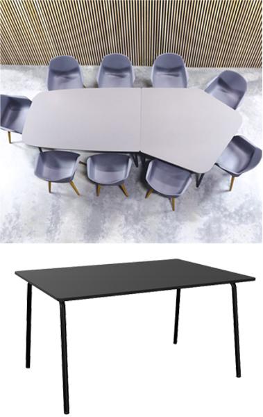 Billede af kreativt mødebord FourReal 741