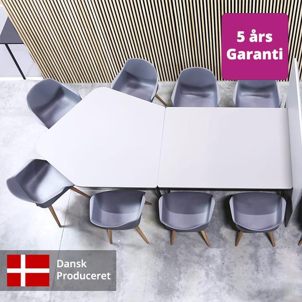 Billede af kreativt mødebord