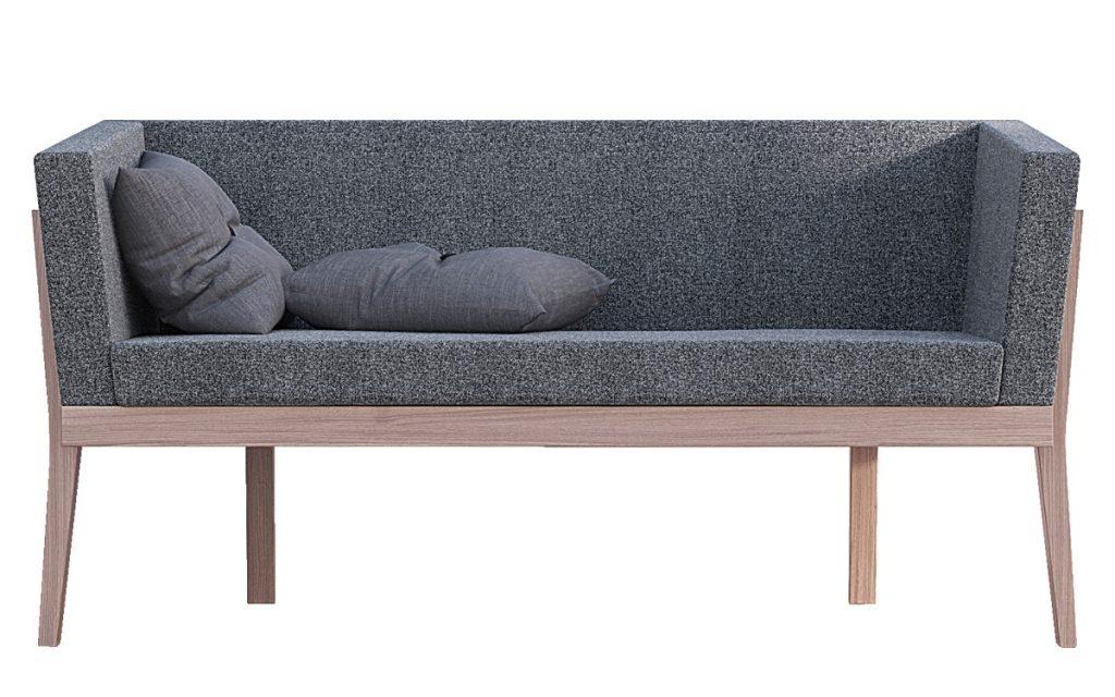 Billede af moderne sofa serie, fuldpolstret. 2 personers. Ito