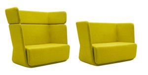 Billede af lounge sofaer gule