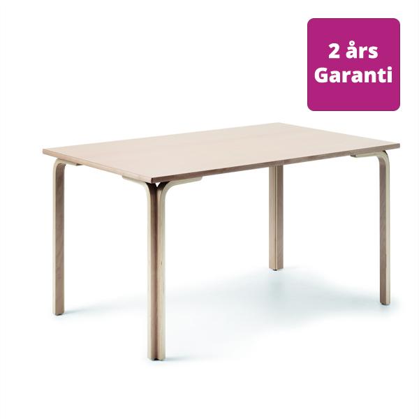 Billede af Solidt spisebord med vinkelben