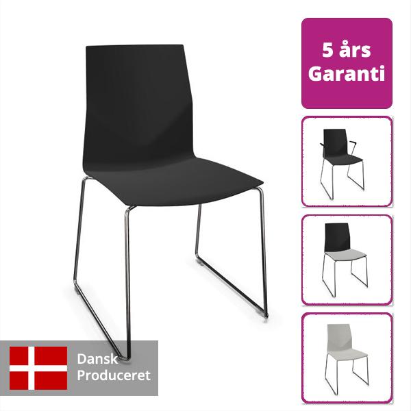 Billede af fleksibel stol med medestel