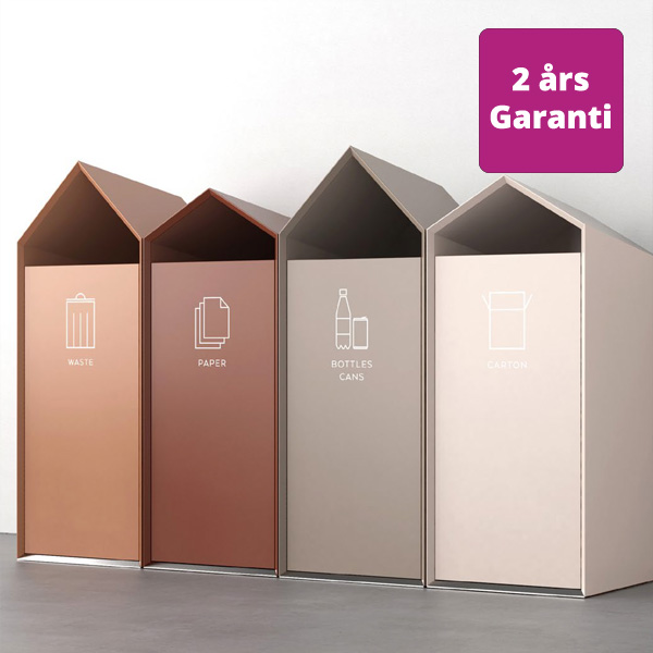 Billede af flot affaldsskab