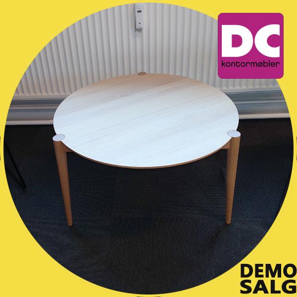 Billede af rundt lounge bord, demo model